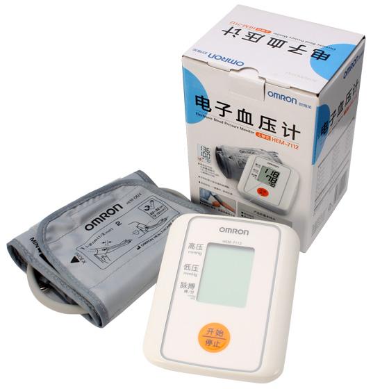 欧姆龙臂式电子血压计 hem-7112
