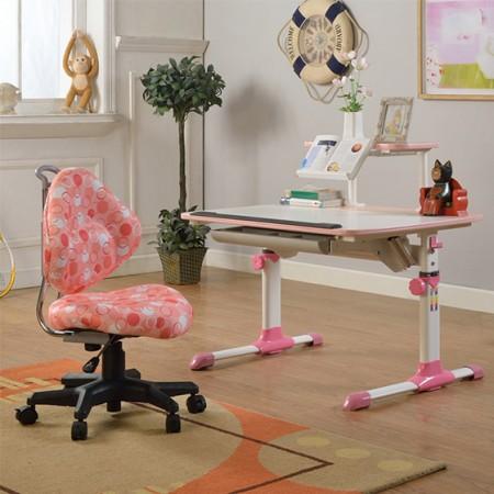 生活诚品成长书桌粉色 粉色