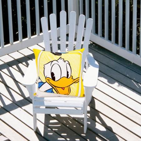 迪士尼笑一笑系列帆布抱枕(含芯)共同_共同_共同 共同