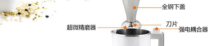 九阳多功能豆浆机升级版 白色