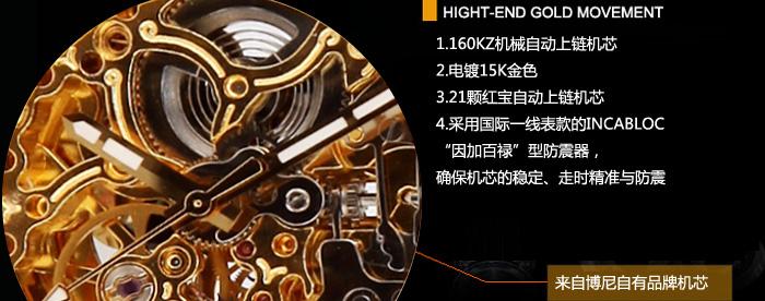 手表链金属结构图案